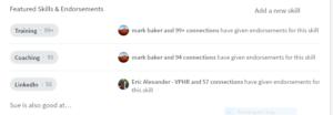 LinkedIn Desktop Redesign Skills